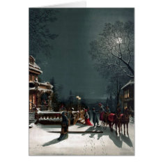 Christmas Eve Card at Zazzle
