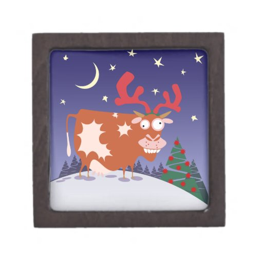 Christmas Eve Cow Premium Gift Boxes