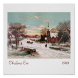 Christmas Eve Framed Prints               ... Posters