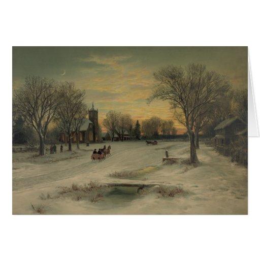 Christmas Eve - Greeting Card #2