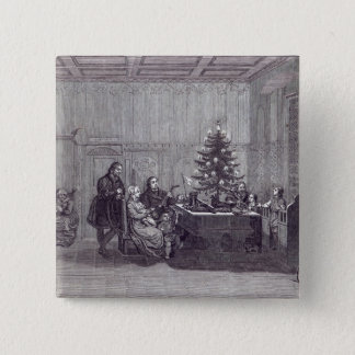 Christmas Eve in Germany Pinback Button