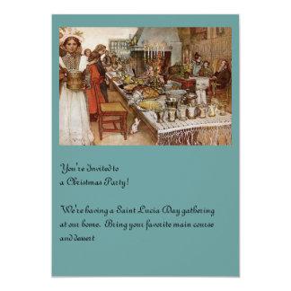 Christmas Eve Julaftonen 5x7 Paper Invitation Card