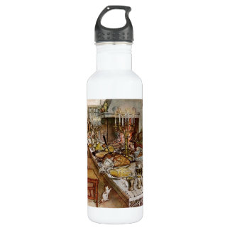 Christmas Eve Julaftonen 24oz Water Bottle