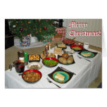 Christmas Eve Lithuanian style Greeting Card