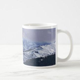 Christmas Eve Mountains Coffee Mug