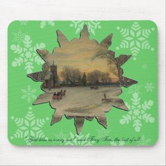 Christmas Eve - Mousepad #2 mousepad