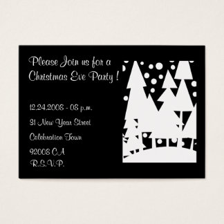 Christmas Eve Party - Invitation
