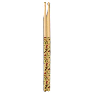 Christmas Eve Pattern Drumsticks