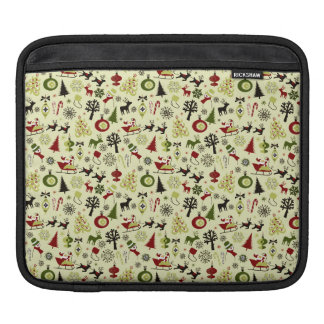 Christmas Eve Pattern Sleeve For iPads