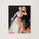 Christmas Eve Pinup Puzzles