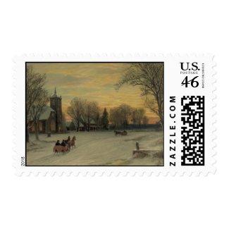 Christmas Eve - Postage #1 stamp