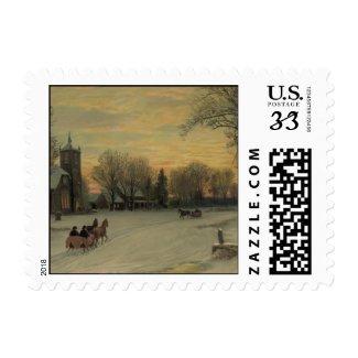 Christmas Eve - Postage #2 stamp