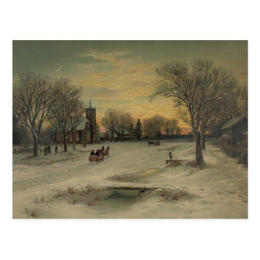 Christmas Eve - Postcard #2