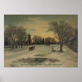 Christmas Eve - Poster #2 print
