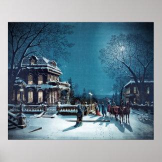 """""""Christmas Eve"""" poster/print"""