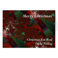 Christmas Eve Reel Irish Music Xmas Greeting Card at Zazzle