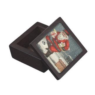 Christmas Eve Santa Keepsake Box