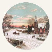 Christmas Eve Stickers