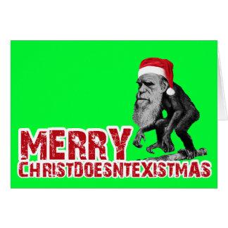 Christmas evolution card
