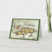 Christmas Fairies Holiday Card