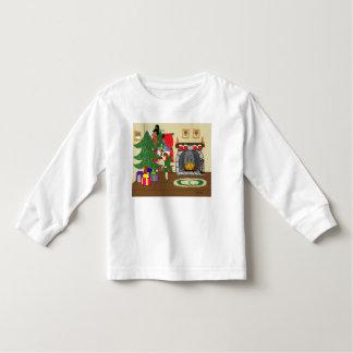 Christmas Fairies Trimming the Tree Shirt