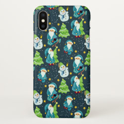 iPhone X Case with Springer Spaniel Phone Cases design