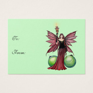 Christmas Fairy Gift Tags