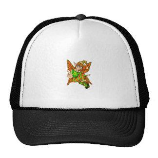 christmas fairy trucker hat