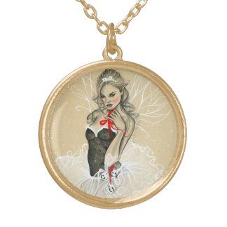 Christmas fairy necklace