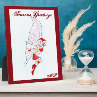 Christmas Fairy Plaque