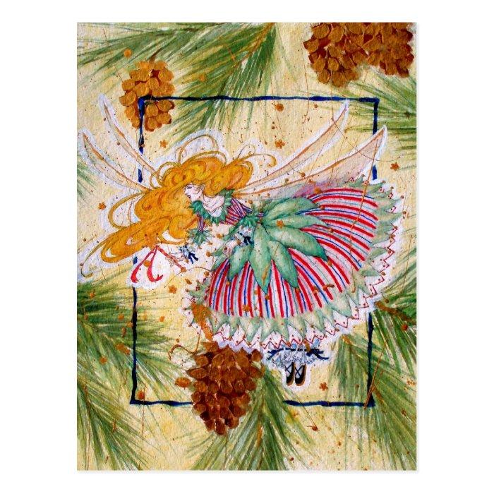 Christmas Fairy Postcard
