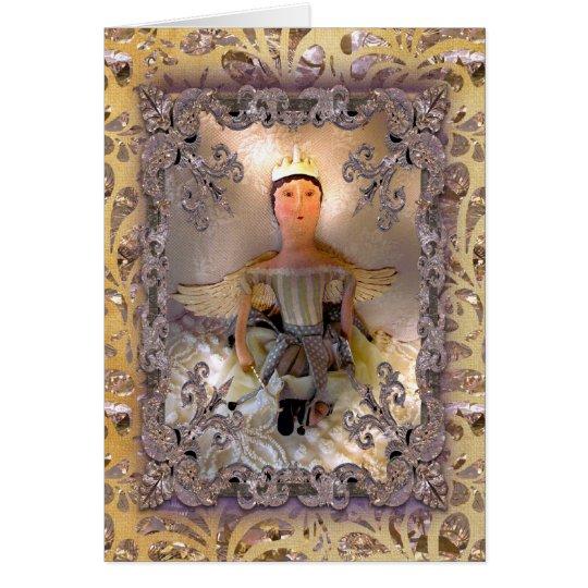 Christmas Fairy Victorian Card