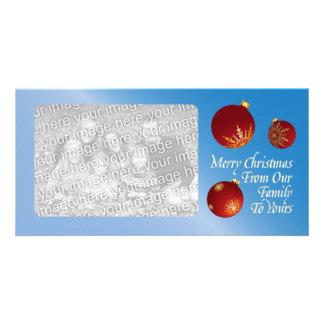 Christmas Family Greetings Photo Card