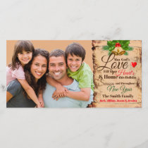 Christmas Family Photo & Greetings Photo Card