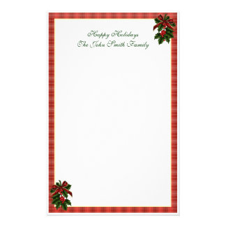 Christmas Family Stationery