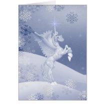 Christmas Fantasy .. fantasy horse Card