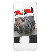 Christmas Farm Horse iPhone 5C Cover