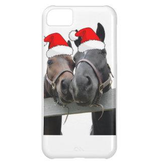 Christmas Farm Horse iPhone 5C Cases