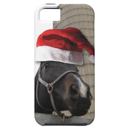 Christmas Farm Horse iPhone SE/5/5s Case
