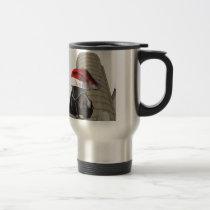 Christmas Farm Horse Travel Mug