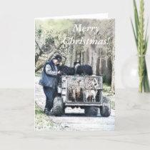 CHRISTMAS FARM LIFE HOLIDAY CARD