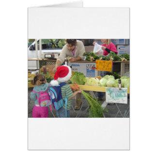 Christmas Farmer's Market Card