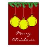 Christmas Fastpitch Softball Card