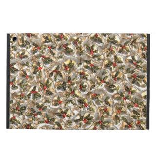 Christmas Faux Metallic Pattern iPad Air case