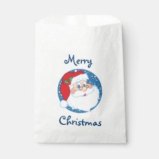 Christmas Favor Bags/Santa Favor Bags