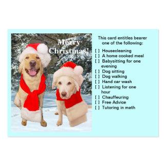 Christmas Favor Card