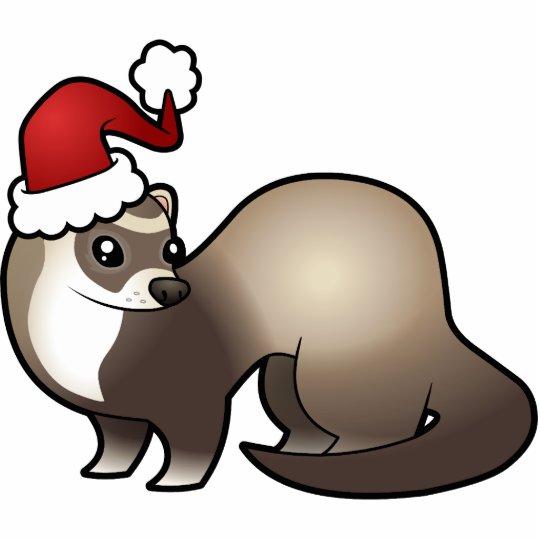 Christmas Ferret Ornament