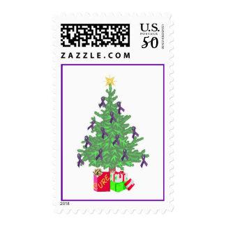 Christmas Fibro Tree Stamp