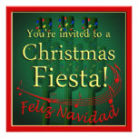 Christmas Fiesta Party Invitation