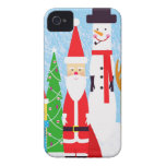 Christmas Figures Case-Mate iPhone 4 Case